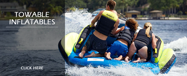 Clearance Towable Inflatable Tubes and Ringos, Boat Ski Tubes and Banana Boats, Water Toys and Clearance Towable Toys